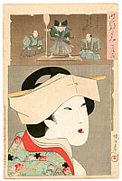 Chikanobu Toyohara 1838-1912 - Tenji - Jidai Kagami
