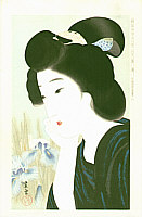Shiun Kondo active  in 1920-30s - June  - Collection of New Ukiyoe Style Beauties