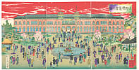 Chikanobu Toyohara 1838-1912 - Ueno Exposition