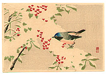 Sozan Ito 1884-? - Bird on a Snow Covered Branch