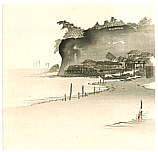 Gekko Ogata 1859-1920 - Fisherman's Village