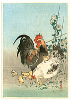 Sozan Ito 1884-? - Chicken Family