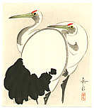 Gakusui Ide 1899-1992 - Two Cranes (early edition)