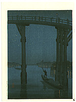 Eijiro Kobayashi active 1930's - High Bridge
