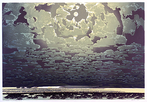 Chen Yuping born 1947 - The 8000-li Road: Clouds and Moon