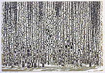 Chen Yuping born 1947 - Birch Wood Faraway