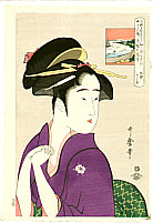 Utamaro Kitagawa 1750-1806 - Lady in Purple