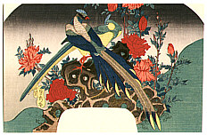Sadahide Utagawa 1807-1873 - Bird and Flowers