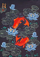 Shen Yingxia born 1961 - Double Fish