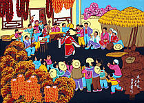 Shen Yingxia born 1961 - Celebrating the Year's Harvest