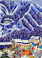 Cheng Minsheng born 1943 - Mid Winter in Qin Ling Mountain Range