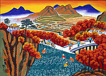 Cheng Minsheng born 1943 - Fall Harvest
