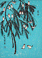 Li Fenglan born 1933 - Birds Together