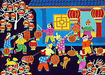 Li Chuanmin born 1970 - Fair of Lanterns