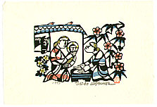 Sadao Watanabe 1913-1996 - Holy Family - Story of the Bible