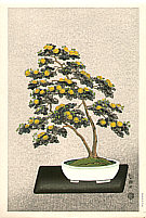 Nisaburo Ito 1910-1988 - Bonsai Chrysanthemum (right panel)