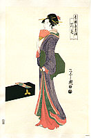 Eishi Hosoda 1756-1829 - Beauty Itsuhana