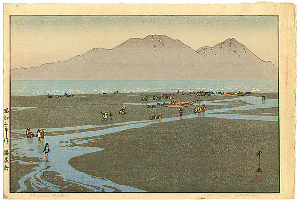 Hiroshi Yoshida 1876-1950 - Unzendake