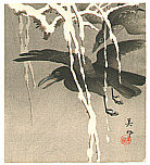Biho Takahashi 1873-? - Crows in the Snow