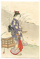 Gekko Ogata 1859-1920 - Dancer