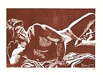 By Paul Binnie born 1967 - Engraving