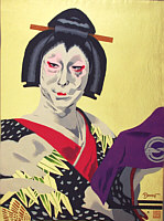 By Paul Binnie - Kabuki Play - Masaoka