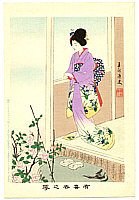 Shuntei Miyagawa 1873-1914 - Rose  - Yukiyo no Hana