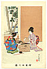 Shuntei Miyagawa 1873-1914 - Chatting - Yukiyo no Hana