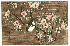 Hiroshige II Utagawa 1829-1869 - Bird and Cherry Blossoms