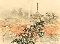Sobun Morikawa 1847-1902 - Twenty Five Famous Places of Kyoto - Miyako Meisho 25 Kei