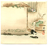 Zeshin Shibata 1807-1891 - Cat on a Windowsill