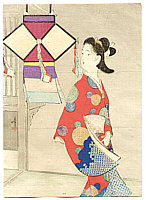 Toshimine Tsutsui 1863-1934 - Colorful Ornament