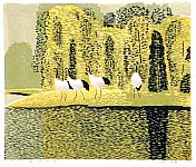 Hao Boyi born 1938 - Autumn of Lakeside