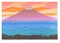 Yuji Watanabe born 1941 - Mt. Fuji
