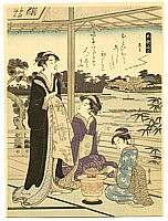 Eishi Hosoda 1756-1829 - Kuronushi - Six Poets