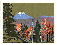 Yasushi Omoto born 1926 - Autumn in Hokkaido