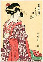 REPRODUCTION - Utamaro Kitagawa