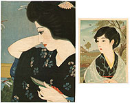 Eiho Hirezaki 1881-1968 - Lithograph Kuchi-e - 2