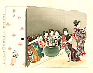Sanzo Wada 1883-1968 - Maiko - Occupations of the Showa Era in Pictures, Continued