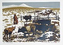 Li Yanpeng born 1958 - Grassland of Early Spring