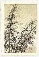 Eiichi Kotozuka 1906-1979 - Bamboo in The Wind