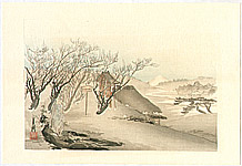 Gekko Ogata 1859-1920 - Winter - One Hundred Views of Mt.Fuji
