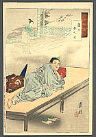 Gekko Ogata 1859-1920 - Dreaming - Gekko's Essay