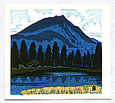 Masao Maeda 1904-1974 - Mountain and Lake