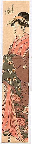Choki Eishosai fl. 18/19th C. - Beauty Hinazuru