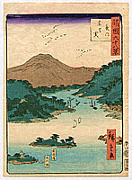Hiroshige II Utagawa 1829-1869 - Nagamon - Shokoku Rokuju-hakkei