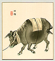 Bairei Kono 1844-1895 - Ox