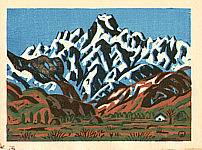 Masao Maeda 1904-1974 - Goryu Mountains