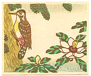 Yasu Kato born 1907 - Woodpecker