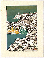 Gagyu Ueda born 1921 - Fishing Harbor
